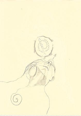 BZ3, 2019, A5, Zeichnung auf Papier