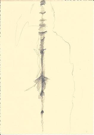 B10, 2019, A5, Zeichnung auf Papier