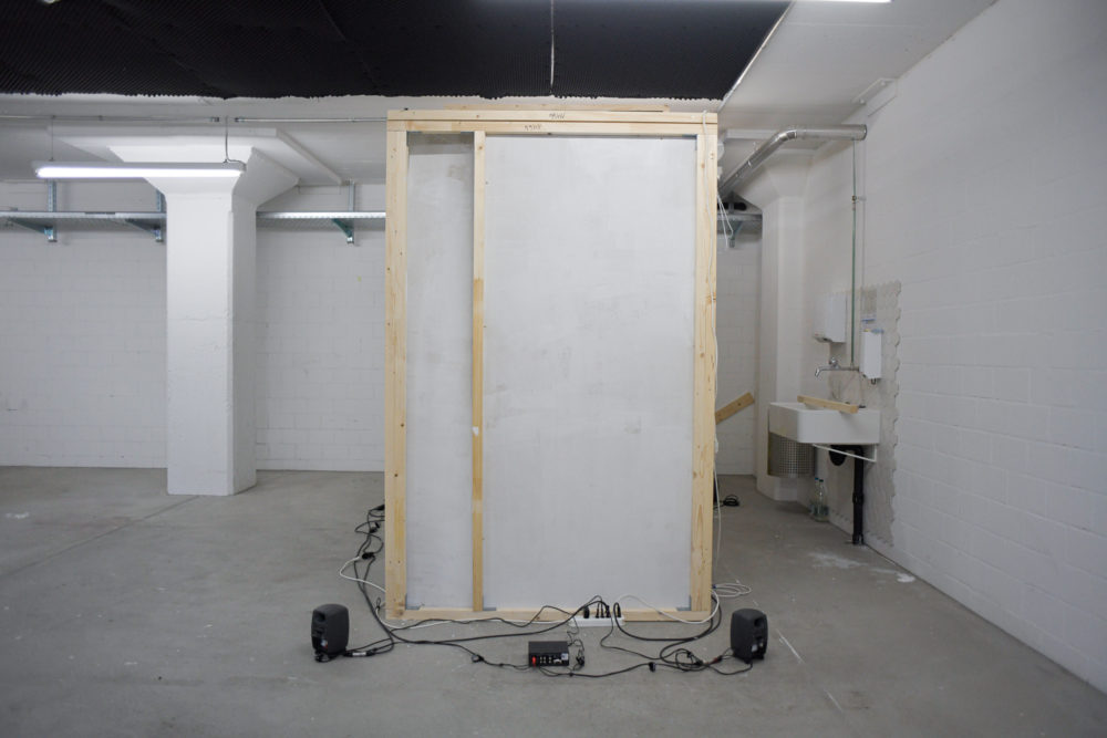 They Built Things that Would Outlast Centuries - Room construction (wood) and staging - 400 x 136cm (L x W), room height: 223cm - 2019