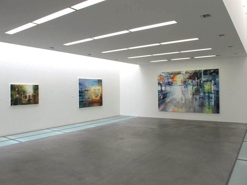 Wandelhalle - Kunsthalle Ziegelhütte Appenzell, 2012 (Ausstellungsansicht)