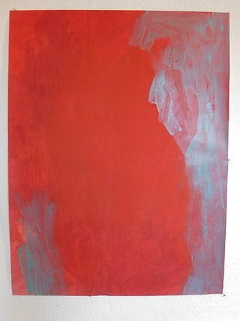 Acryl auf Papier, 100 x 70 cm