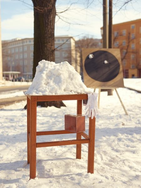 SOMETHING ABOUT SNOW AND EARTH AND ANGER, 2013. Self initiated working day.