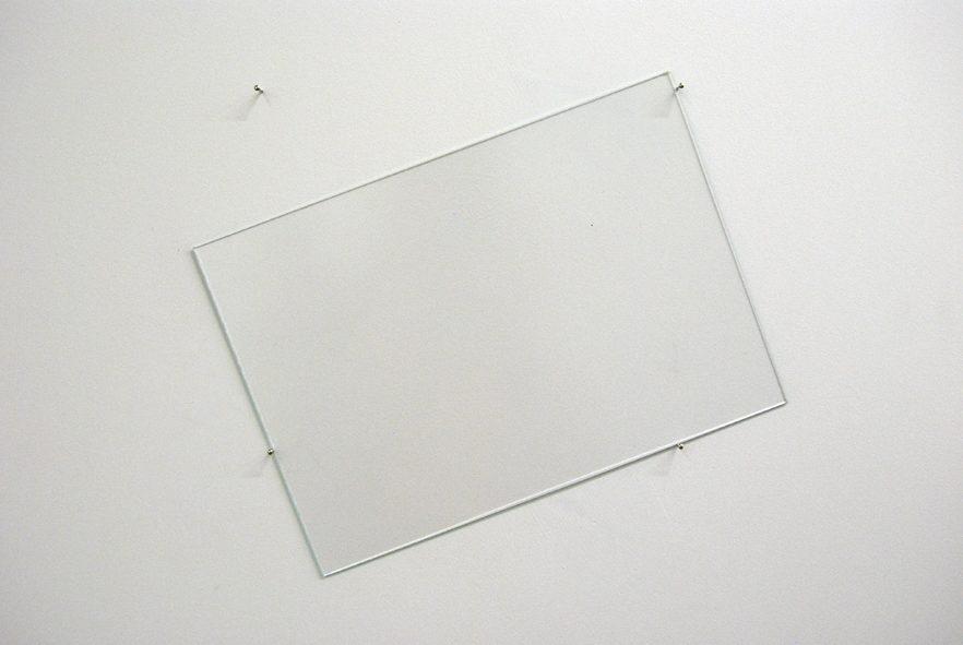 Ohne Titel, Glas, H25/B35cm, 2012