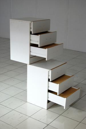 Furniture Sculpture VII, Kommoden, H124/B46.5/T107, 2011