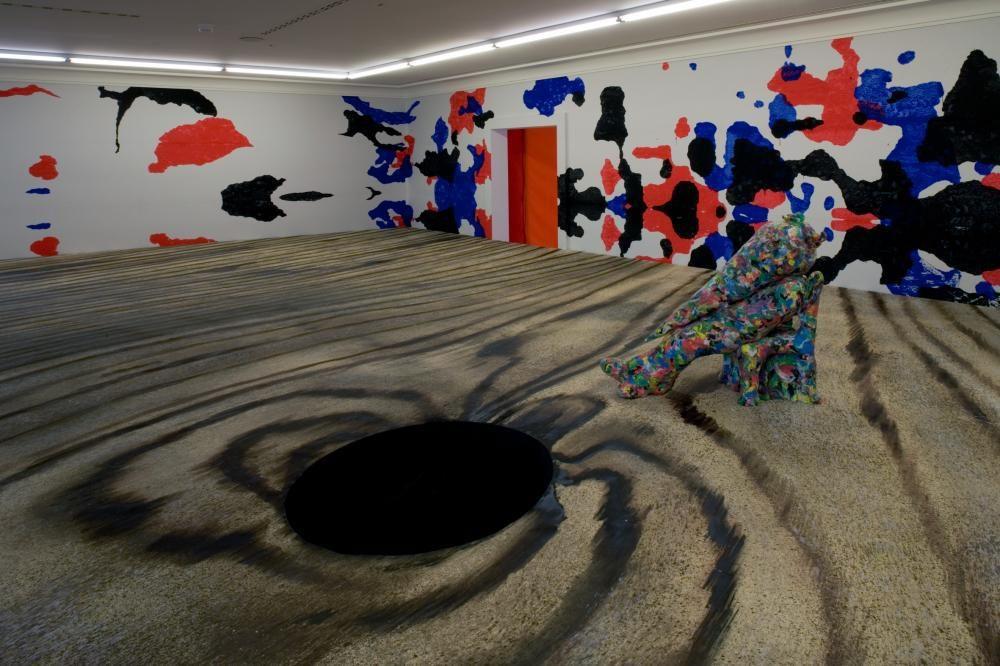 o.T., Installation Helmhaus Zürich, 2006