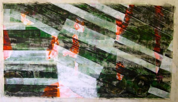 2015 Agadez / Aeonen-Geschichte Acryl / Dispersion auf Leinwand 160 x 290