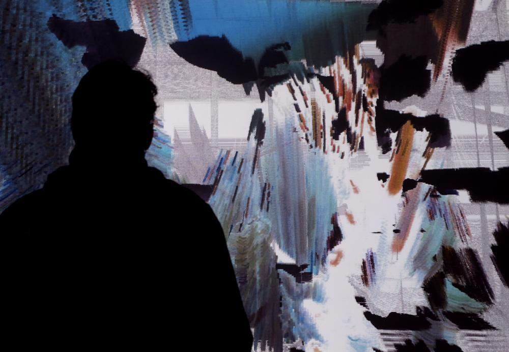 Arbeit «salvage» in der Ausstellung «Sound Embodied», HeK Basel, Regionale 19