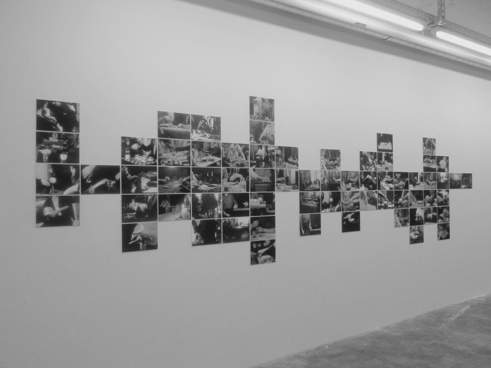 à table, 2013, 66-tlg, Ausstellungsansicht DAS ESSZIMMER, Bonn