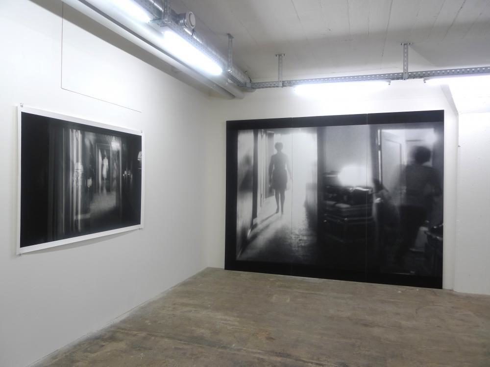scene #1 + scene #18, Ausstellungsansicht basement 2014, OSLO 10 , Basel