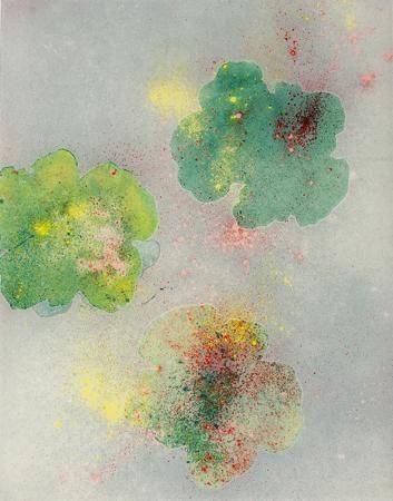Hommage a A.W. á Tibet, chapitre 2, 2014, 100 x 64 cm, Tusche, Pigment auf Reispapier