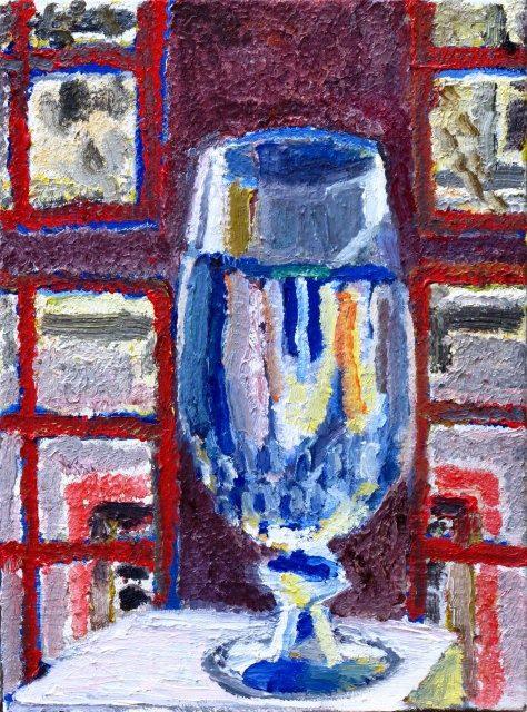 Erfrischung, 2009, 57/42 cm, Öl/Leinwand