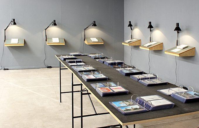 Ausstellungsansicht, back & forth: to & fro, Ausstellungsraum Klingental, Basel 2012