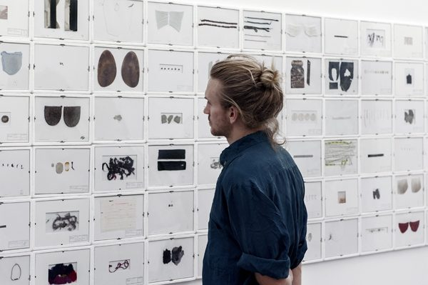 Ausstellungsansicht, collective, Haus am Kleistpark Berlin, 2016
