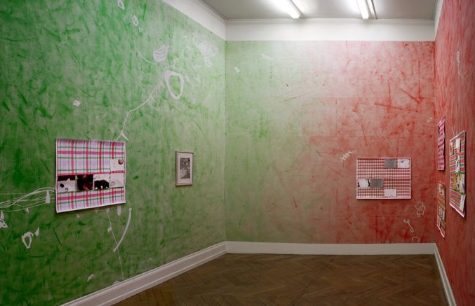 Ausstellungsansicht, Die zeichnerische Dimension, Kunsthalle Palazzo, Liestal, 2014