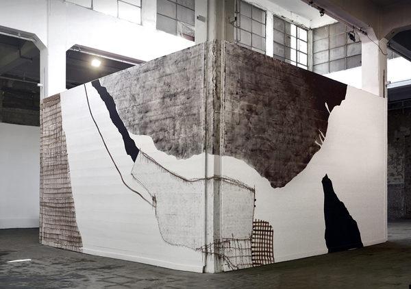 Ausstellungsansicht, Traces of a Residency, Townhouse Gallery Cairo, 2018
