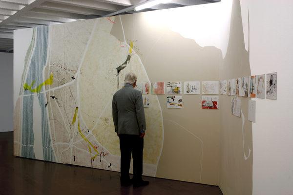 Ausstellungsansicht, Raumgeschichten, Kunstraum Baden, 2018