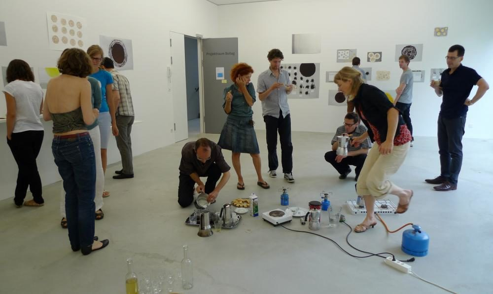 Öffentliche Kaffeepause, 2012, Bollag Projektraum