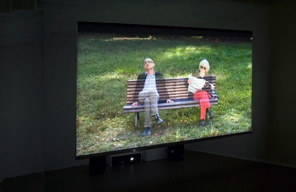 dazwischen, Videoinstallation mit Klang, 2009
