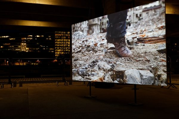 dingzihù, 3-Kanal-Video- und Soundinstallation, 2014