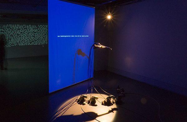 Dilemma der Einsamkeit, Interaktive Intermedia-Installation 2003 / 2007 Zusammenarbeit mit Martin Bircher