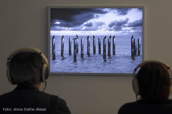 Dann werde ich traurig, nur um mich auszuruhen Bild und Klang 2013,  Soundscape und Viola: Barblina Meierhans, Mischung: Hans Peter Gutjahr