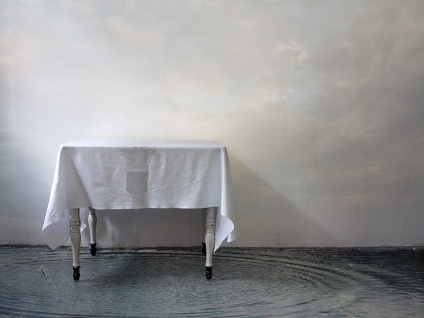 Ich will eine Wahrheit, die erfunden ist, Eine 13teilige Fotomontage-Serie 2012 / 2013 Pigmentdruck auf Büttenpapier, auf Aluminium,