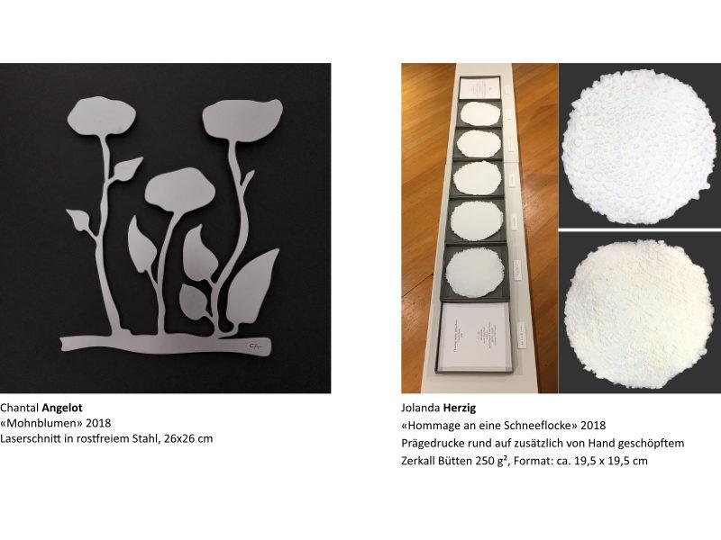Links: Chantal Angelot | Rechts: Jolanda Herzig