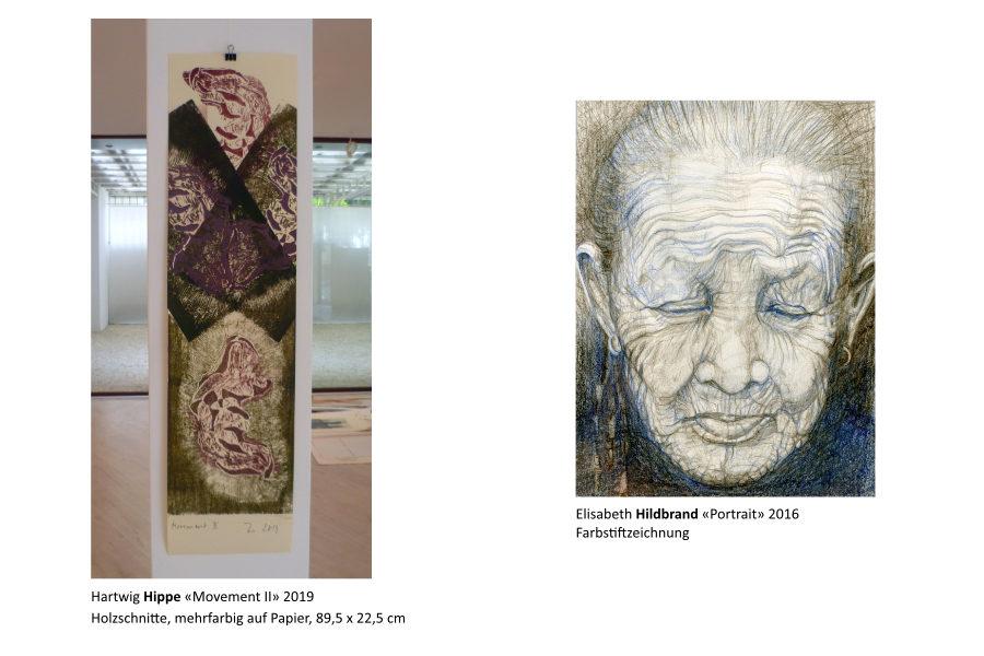 Links: Hartwig Hippe | Rechts: Elisabeth Hildbrand