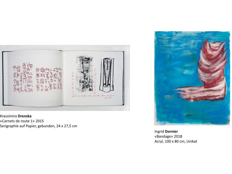 Links: Krassimira Drenska | Rechts: Ingrid Dornier