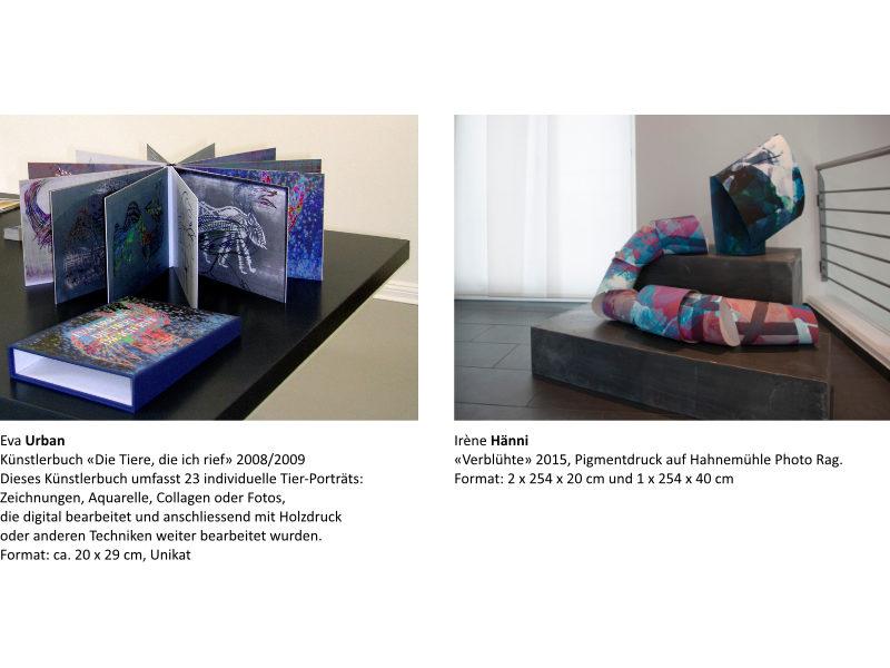 Links: Eva Urban | Rechts: Irène Hänni