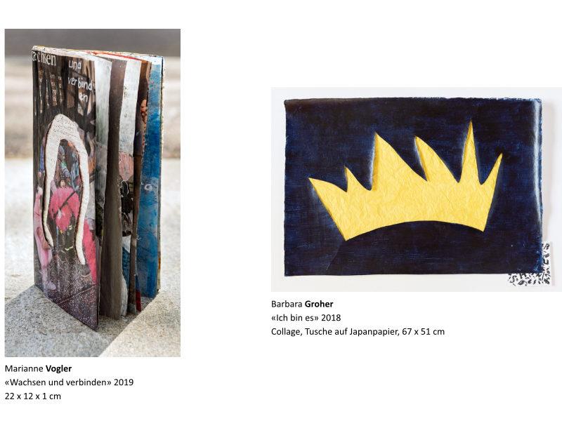 Links: Marianne Vogler | Rechts: Barbara Groher