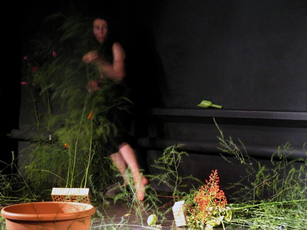 "Tanzperformance ""Im Garten Wunderland"", 2009, Foto: Urs Schmid"