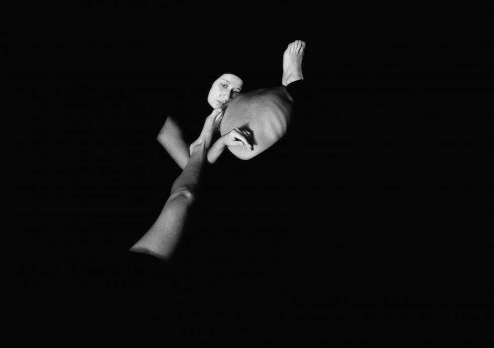 """Video """"Puzzle"""", 1991, Foto: Roland Keller"""