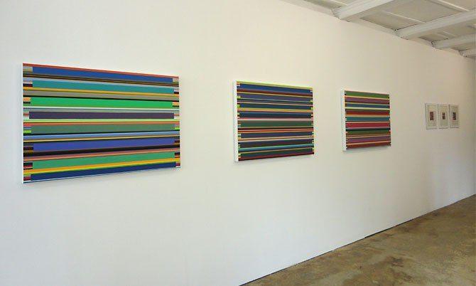 "ausstellung ""farbräume"", galerie rössli, balsthal, 2013"