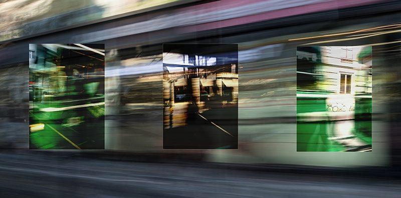 Muba Photo Award 2017: Mit der Tram Nr 8 durch die Stadt Basel.
