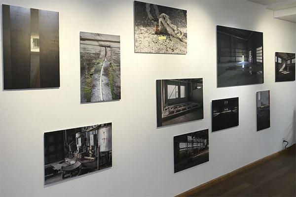 """verschiedene Bilder auf Aludibond aus dem Buch """"Eine Papierfabrik im Verschwinden"""": diverse Formate"""