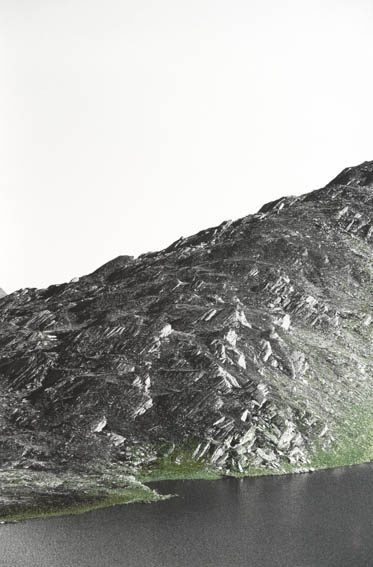 analoge SW-Fotografie - benäht, 2013, 40 x 28 cm
