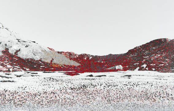 analoge SW-Fotografie - benäht, 2013, 21 x 33 cm