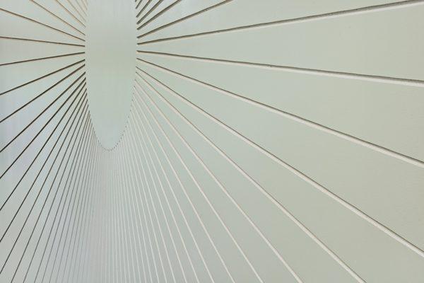 """2013 """"Solaris"""", Detail Kunst am Bau, Siedlung Wettsteinpark, Basel"""