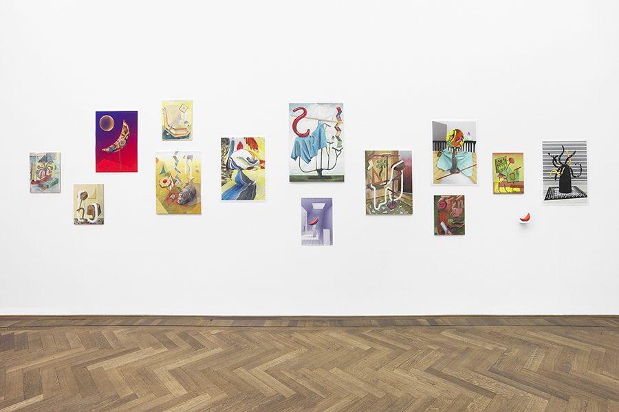 Analog Virtuality, Ausstellungsansicht Kunsthalle Basel, 2014