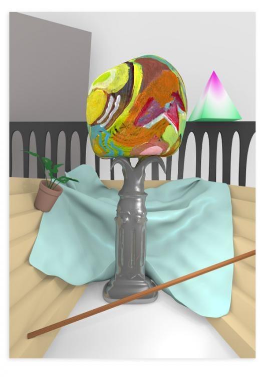 Analog Virtuality, 80x60cm, inkjet print, 2014