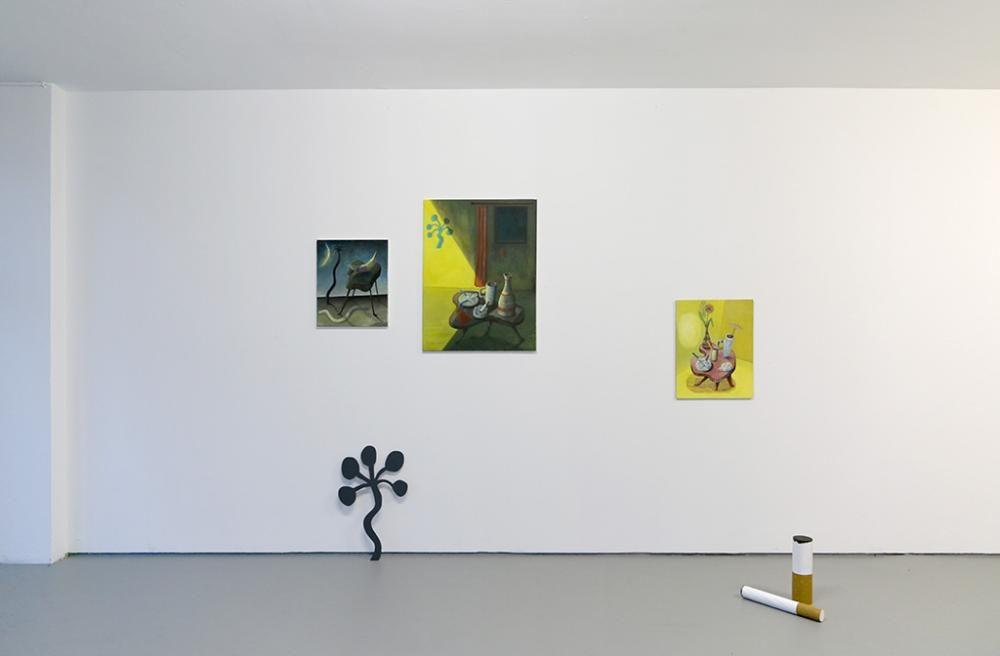 Tableau Vivant, Ausstellungsansicht, 2015