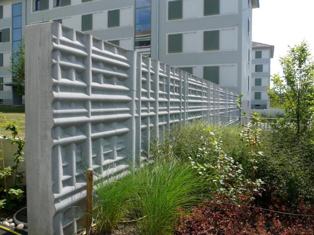 Schnittstelle, 2008, Betonguss, Bäumlihofstrasse Basel