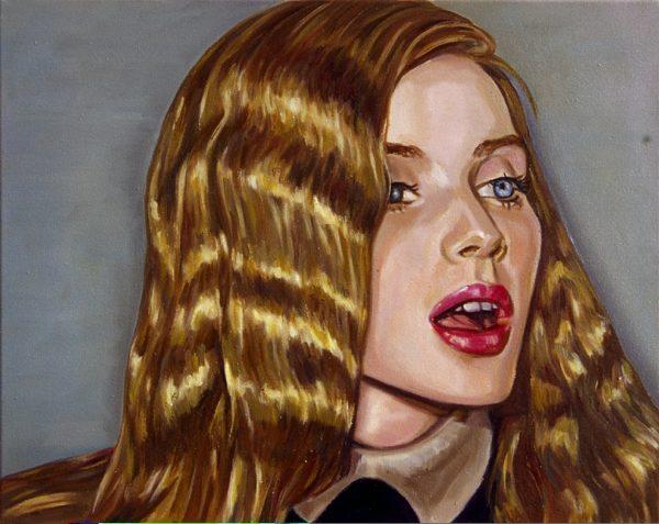 Sonate, 2009, 60 x 40 cm, Öl auf Baumwolle
