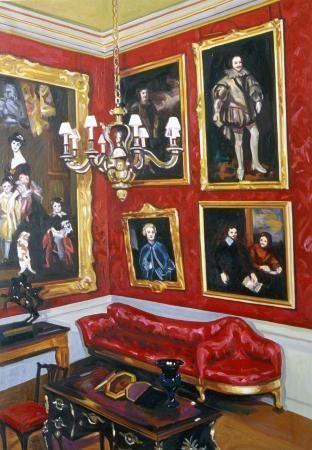 Zèle, 2008, 100 x 70 cm, Öl auf Baumwolle