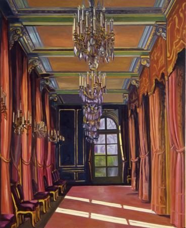 Elysée, 2009, 90 x 73 cm, Öl auf Baumwolle