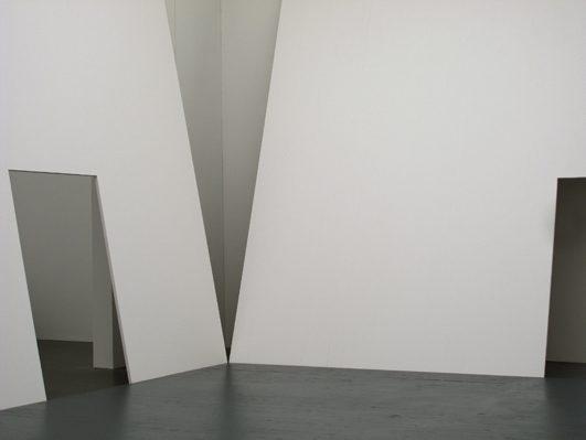 Das Museum meiner Träume, 2010, 3-Schicht Platten weiss lasiert, Kabinettausstellung Kunstmuseum Luzern