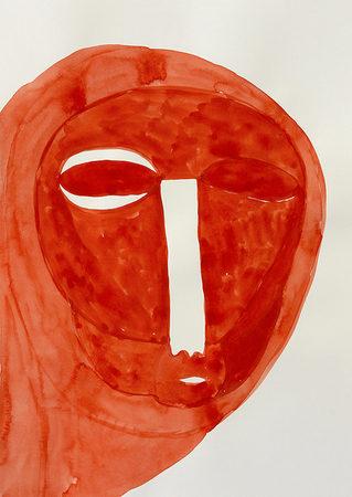 o.T., 42 x 29,7 cm, Gouache auf Papier, 2019