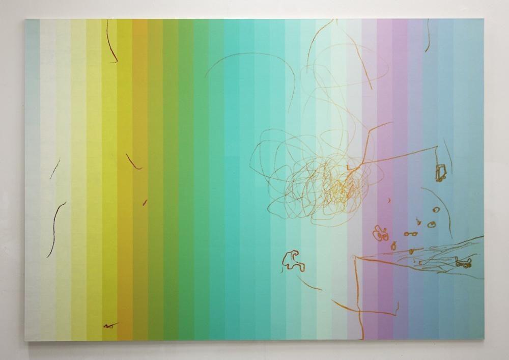 Blow-Up 85, 2009, 210 x 300 cm, Öl auf Leinwand