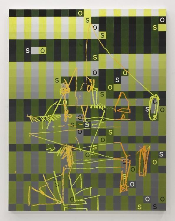 Blow-Up 99, 2013, 135 x 105 cm, Öl auf Leinwand